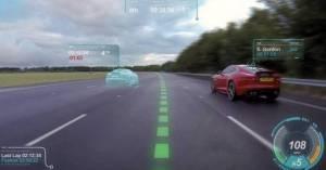 Ψηφιακό παρμπρίζ και καθοδήγηση με λέιζερ για Jaguar και Land Rover