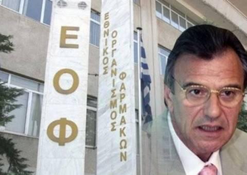 «Σηκώνει τα χέρια ψηλά» για την αξιολόγηση ο πρόεδρος του ΕΟΦ