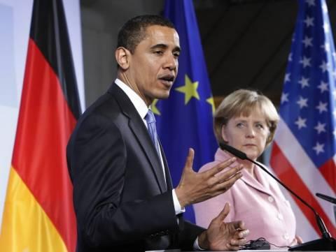 Στο επίκεντρο Ομπάμα και Μέρκελ η συνεργασία των υπηρεσιών πληροφοριών