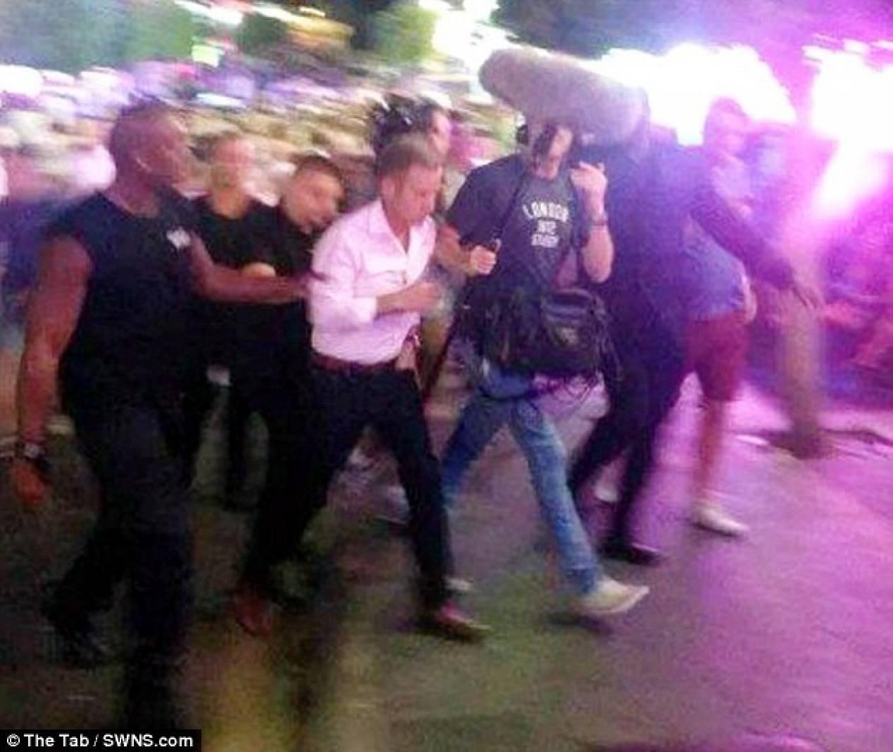 Επίθεση σε δημοσιογράφο στην πόλη των οργίων! (pics+video)
