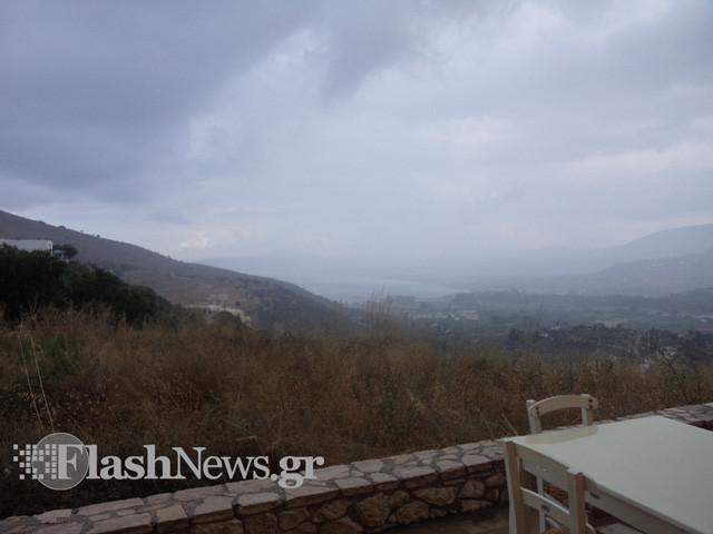 Δείτε σε ποια περιοχή της Κρήτης «έριξε καρέκλες»! (photo)