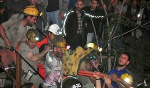 Τουρκία: Διαδήλωση για την κατάρρευση του ανθρακωρυχείου στη Σόμα