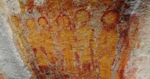 Ινδία: Μυστήριο με τοιχογραφίες 10,000 χρόνων που απεικονίζουν εξωγήινους