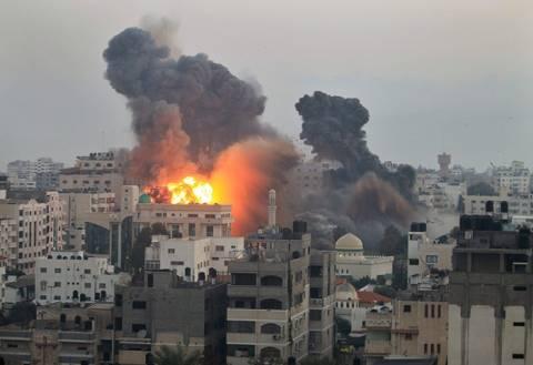 Γάζα: Άρχισαν ξανά οι αεροπορικές επιδρομές