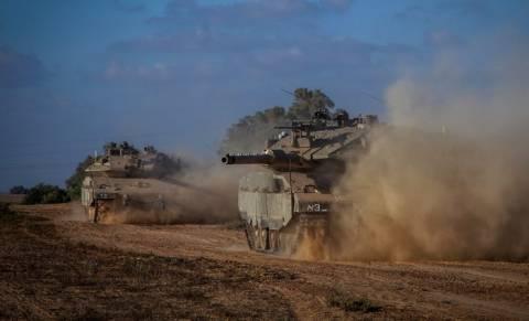 Λωρίδα της Γάζας: Σε εξέλιξη η χερσαία επίθεση