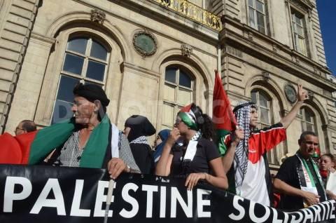 Η Γαλλία απαγόρευσε διαδήλωση υπέρ των Παλαιστινίων