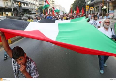 Θεσσαλονίκη: Πορεία αλληλεγγύης για την Παλαιστίνη