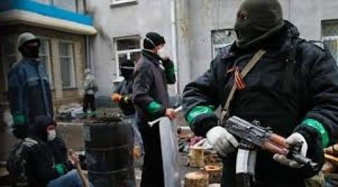 Η Ουκρανία κατηγορεί τη Ρωσία για το βαρύ οπλισμό των αυτονομιστών