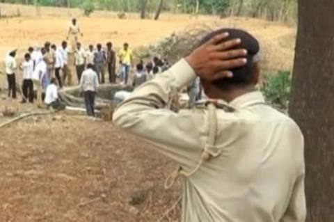 Ινδία: Συγκλονιστική διάσωση λεοπάρδαλης από πηγάδι! (video+photos)