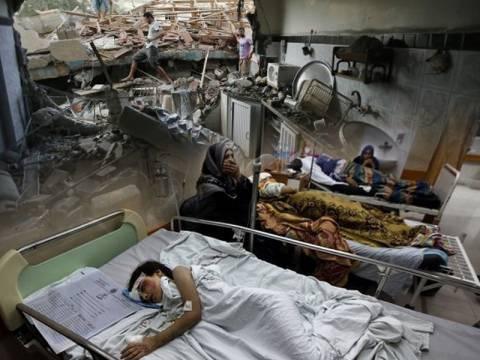 Σφαγή στη Γάζα - Χτυπούν ακόμα και νοσοκομεία! (pics+video)