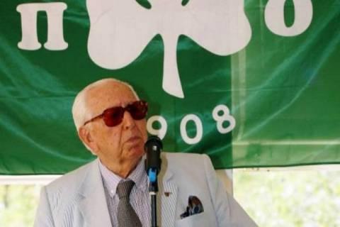 Ο Αχ. Μακρόπουλος επίτιμος πρόεδρος των παλαίμαχων πρωταθλητών του ΠΑΟ