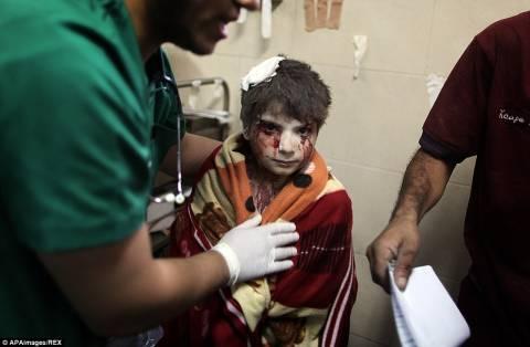 Η Γάζα πνίγεται από το αίμα παιδιών (πολύ σκληρές εικόνες)