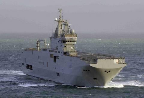 Οι ΗΠΑ δεν συμφωνούν στην πώληση πολεμικών πλοίων από τη Γαλλία στη Ρωσία