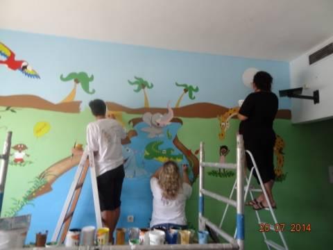 «Ζωγράφοι σε Δράση για τα Παιδιά» (pics)