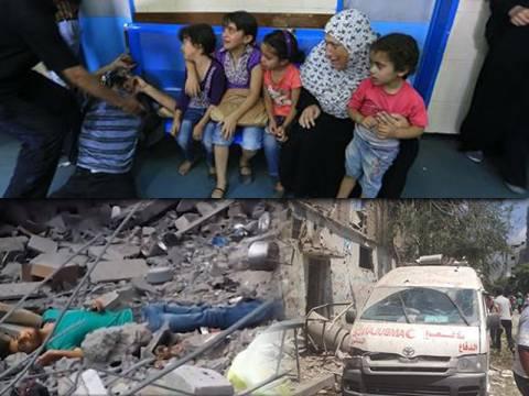 «Οι άμαχοι στη Γάζα δεν έχουν μέρος να κρυφτούν»