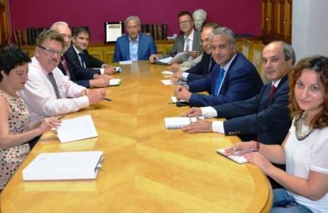 Συνάντηση Βορίδη-Φούχτελ για τις μεταρρυθμίσεις στην Υγεία