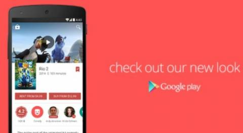 Google Play: Ξεκίνησε η διάθεση της αναβάθμισης με Material Design (video)