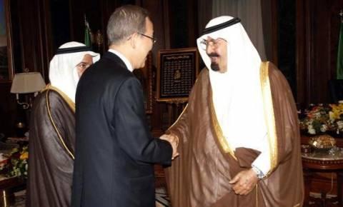 Στη Τζέντα ο ΓΓ του ΟΗΕ για συνομιλίες με τον βασιλιά Αμπντάλα με θέμα τη Λωρίδα της Γάζας