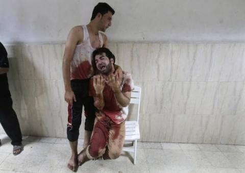 Κόλαση πολέμου- Αίμα και δάκρυα στη Γάζα (pics+video)