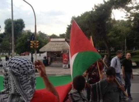 Οι οπαδοί του Παναθηναϊκού στο πλευρό των Παλαιστινίων (pic)