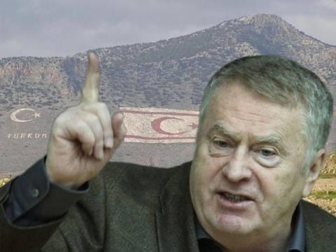 Β. Ζιρινόφσκι: Να αναγνωρίσουμε το ψευδοκράτος στη Βόρεια Κύπρο