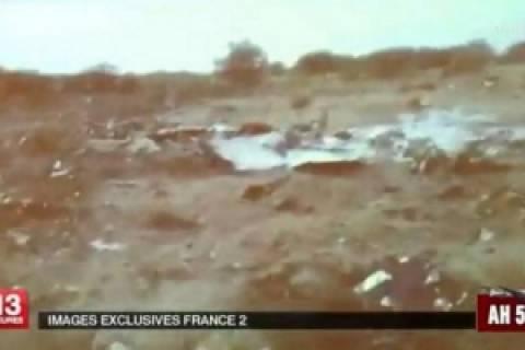 Εικόνες-σοκ από τον τόπο συντριβής του αεροπλάνου της Air Algerie