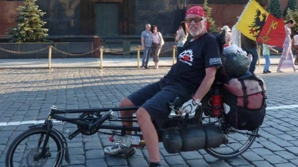 Ποδηλάτης που έχει γυρίσει όλο τον κόσμο σκοτώθηκε από μεθυσμένο οδηγό!