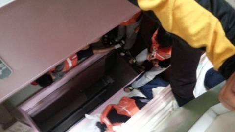 Άρχισαν να καταθέτουν μαθητές επιζήσαντες του ναυαγίου του Sewol