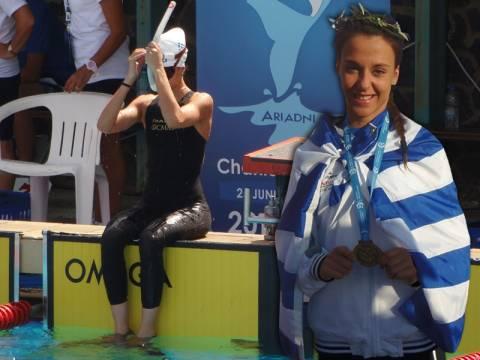 Άννα Λύκου: «Έχει μέλλον η τεχνική κολύμβηση»