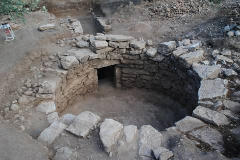 Άμφισσα: Εντοπίστηκε θολωτός τάφος των μυκηναϊκών χρόνων