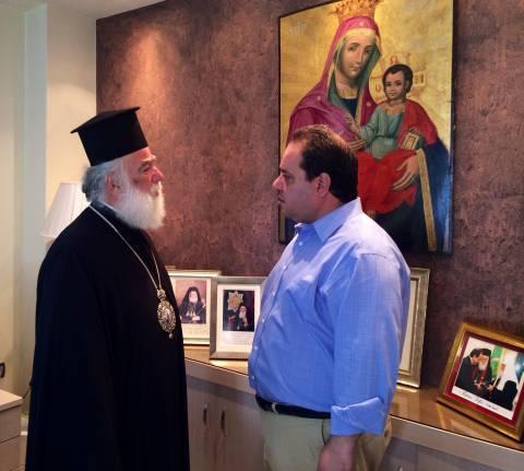 Ο Πατριάρχης Αλεξανδρείας στην «Αποστολή»