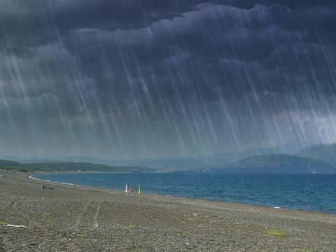 Τοπικές βροχές και νεφώσεις σε ολόκληρη τη χώρα