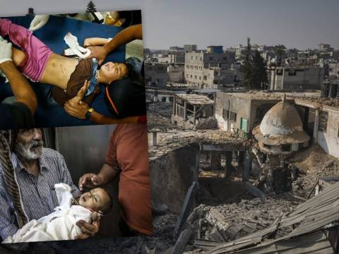 Γάζα: Αιματοχυσία δίχως τέλος και διακρίσεις (videos+photos)