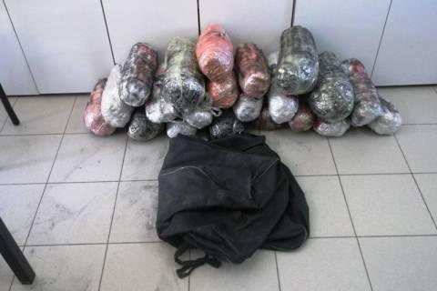 Φλώρινα: Δύο συλλήψεις αλλοδαπών για εισαγωγή ναρκωτικών