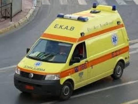 Κρήτη: Τροχαίο ατύχημα με σοβαρά τραυματία δικυκλιστή (pic)