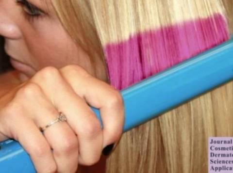 Βαφές τέλος! Δείτε το σίδερο που θα αλλάζει χρώμα στα μαλλιά σας