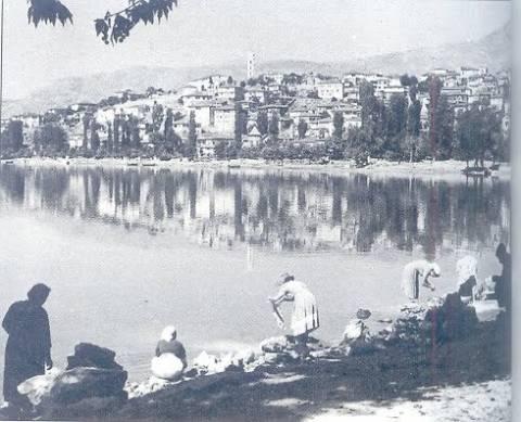 Ένα περίεργο φαινόμενο στη λίμνη της Καστοριάς
