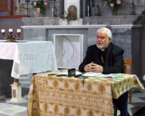 Επιστρέφουν τα λείψανα του Αγ.Βαλεντίνου στην Μυτιλήνη (βίντεο)