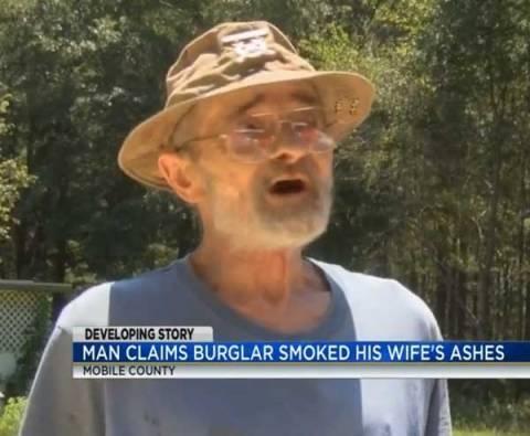 Πέρασε τις στάχτες νεκρής γυναίκας για ναρκωτικά και την... κάπνισε! (pics)
