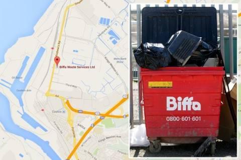 Μακάβριο εύρημα σε εργοστάσιο ανακύκλωσης!