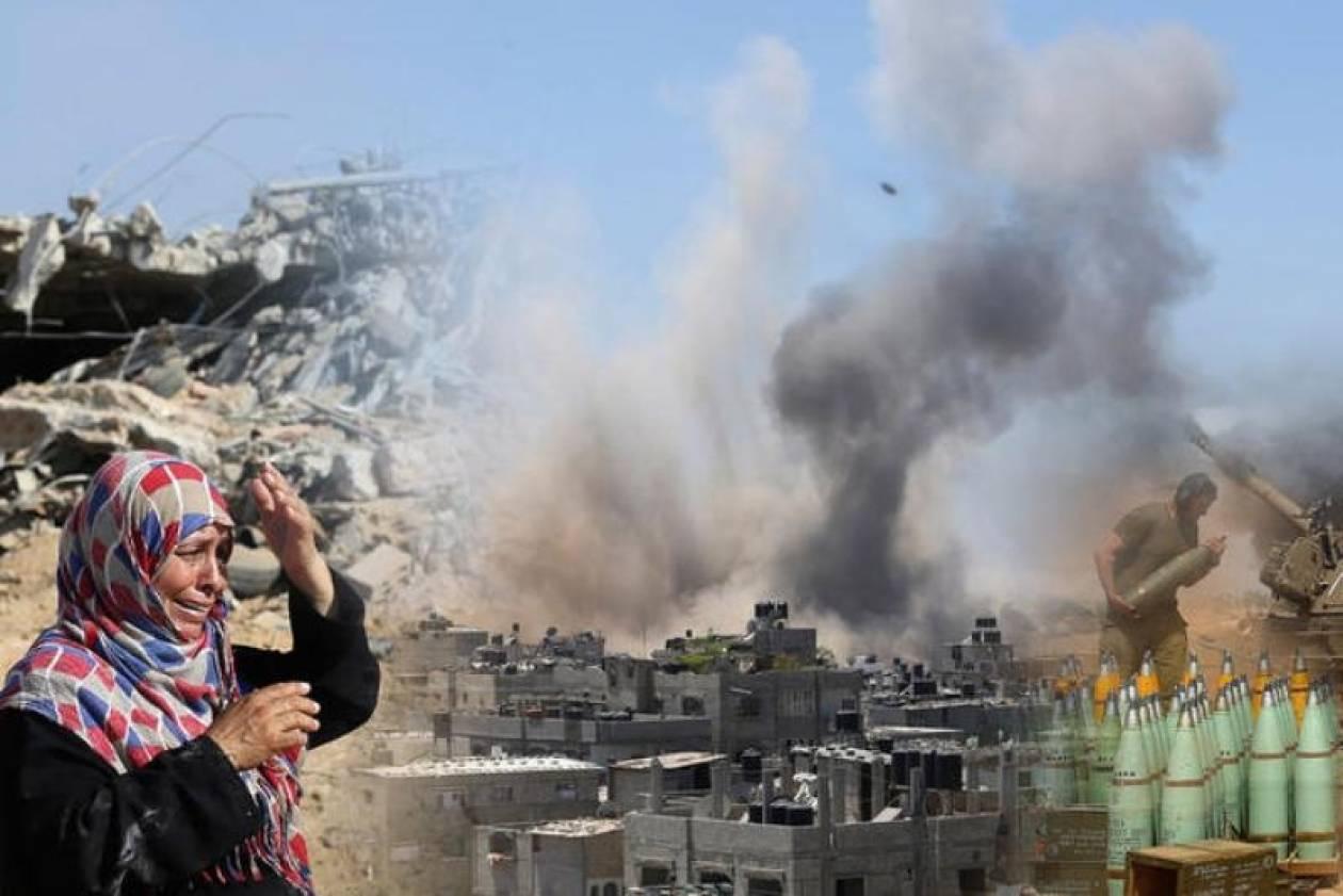 Γάζα: Ολονύκτιοι ισραηλινοί βομβαρδισμοί – Πληθαίνουν οι νεκροί (vid+phs)
