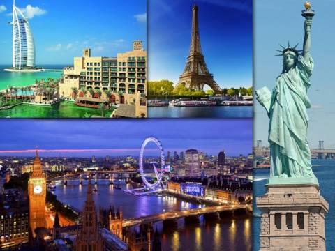 Οι 20 πιο δημοφιλείς πόλεις στον κόσμο