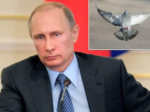 Αίσιοι οιωνοί εξ …ουρανού στον αριστερό ώμο του Βλαντίμιρ Πούτιν!