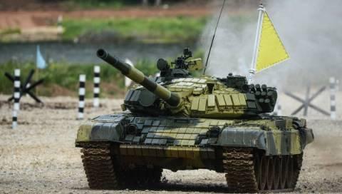 Сергей Шойгу открыл Первый мировой чемпионат по танковому биатлону