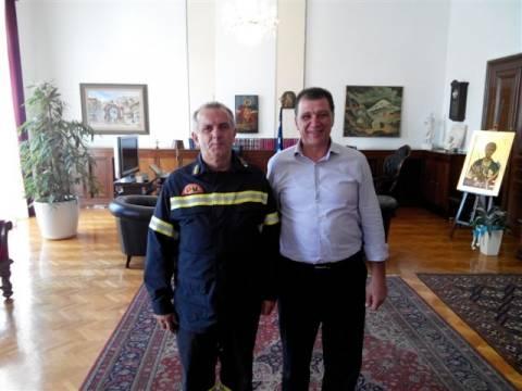 Ορφανός: «Το Πυροσβεστικό σώμα είναι σε εγρήγορση»