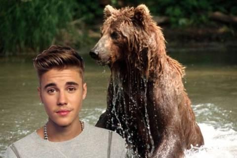 Ρωσία: Τραγούδι του Μπίμπερ έσωσε ψαρά από αρκούδα!