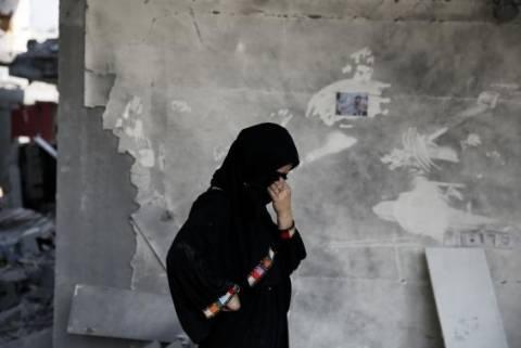Πνίγεται από το αίμα αμάχων η Γάζα (pics+video)