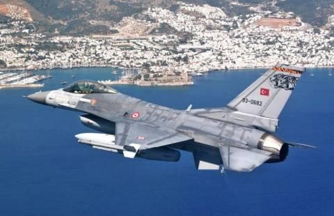 Τουρκικό μαχητικό παραβίασε τον εθνικό εναέριο χώρο