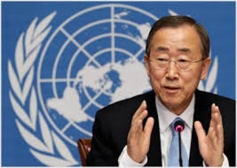 Μπαν Γκι-μουν: «Να τερματιστεί ο αέναος κύκλος δεινών στη Γάζα»