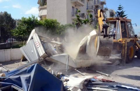 Πάτρα: Ο δήμος προχώρησε στην αποξήλωση 23 περιπτέρων